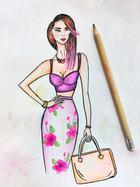 Посмотреть афишу: Fashion иллюстрация
