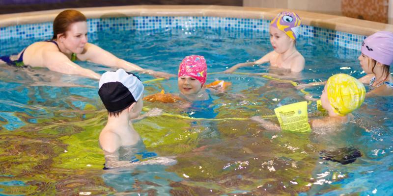 Плавание для деток от 3 до 6 лет