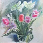 Посмотреть афишу: Виставка акварелі «Весняний розмай»