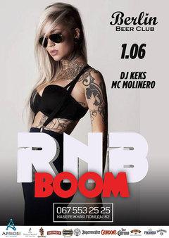 Посмотреть афишу: RnB Boom