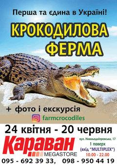 Посмотреть афишу: Крокодиловая ферма