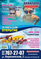 Посмотреть афишу: Открытие Аквапарка в СК Янтарный