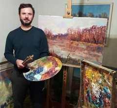 Посмотреть афишу: Персональна виставка живопису Ярослава Милосердного