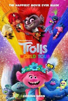 Посмотреть афишу: Тролли 2: Мировое турне