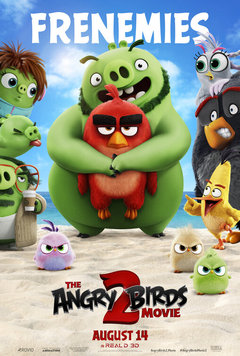 Посмотреть афишу: Angry Birds в кино 2