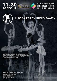 Посмотреть афишу: Школа класичного балету