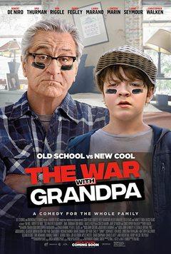Посмотреть афишу: Война с дедушкой