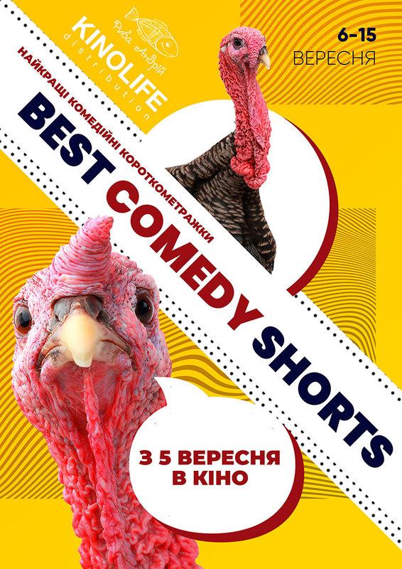 Best Comedy Shorts - 2019, фестиваль комедій