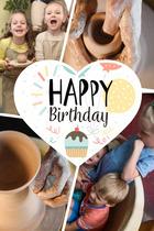 Посмотреть афишу: Детский День Рождения в гончарной мастерской