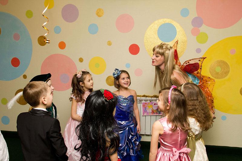 Детский праздник в Праздничном Мире