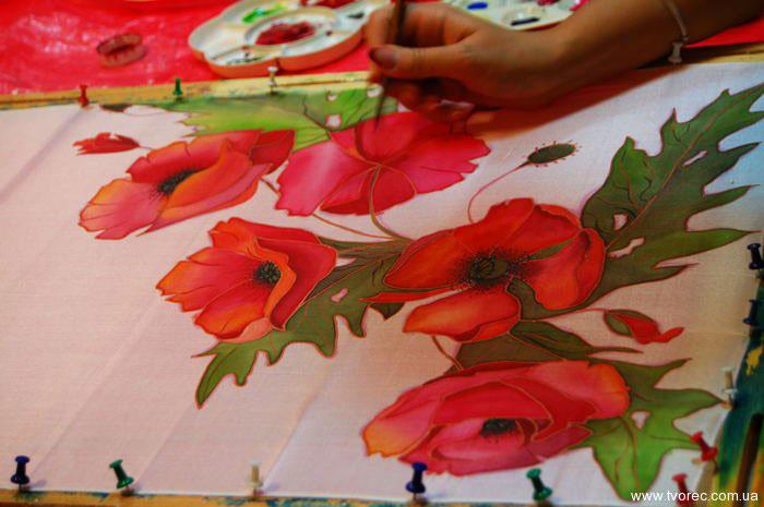 Роспись по ткани своими руками батик 37