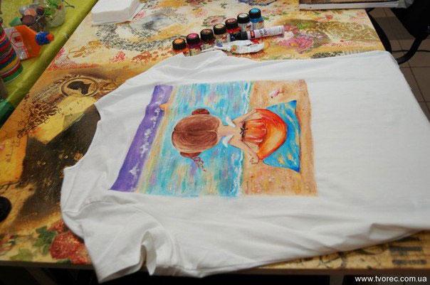 Мастер класс росписи по ткани красками