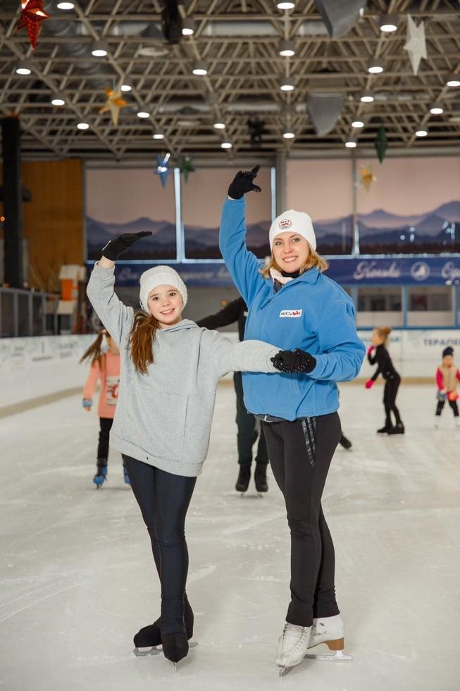Катание на коньках в Мост-айс