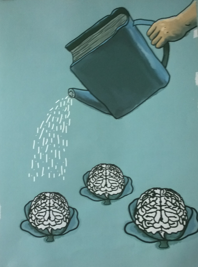 Виставка соціального плакату «Книга і читання»