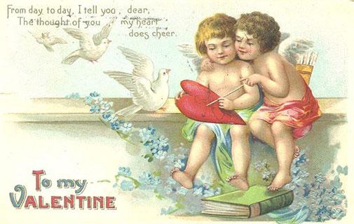 Побачення в музеї на день святого Валентина