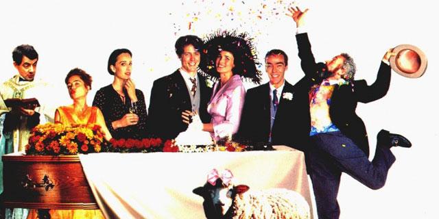 Фильм-четыре свадьбы и одни похороны