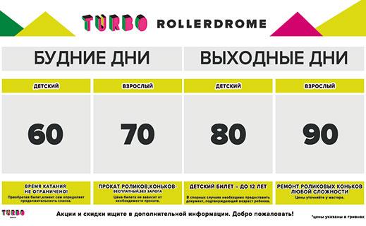 TURBO rollerdrom в ТРЦ «Караван»