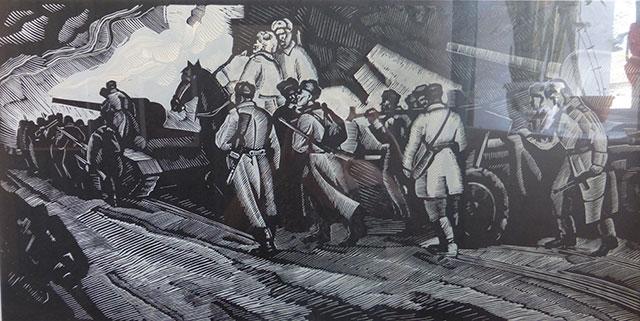 Виставка творів Петра Магра «Серце воїна, віддане мистецтву»