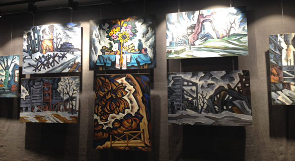 Виставка картин Михайла Кублика «Закатований Донбас»