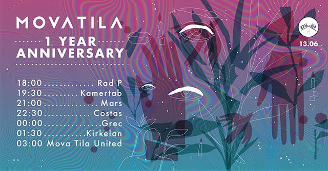Mova Tila: 1 Year Anniversary @ Крыша