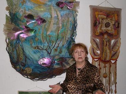Персональна ювілейна виставка Людмили Бачюлєнє
