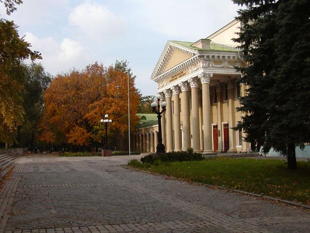 Парк Шевченко. Дворец Студентов