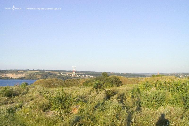 Общий вид на место бывшей крепости Кодак