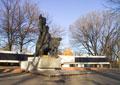 пос. Краснополье, монумент павшим воинам