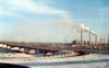Южный мост, Приднепровская ТЭС, вид с правого берега