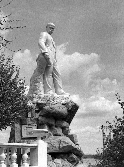 Памятник Т.Г. Шевченко, парк Шевченко
