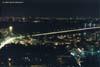Начало Центрального моста, общий вид, ночь