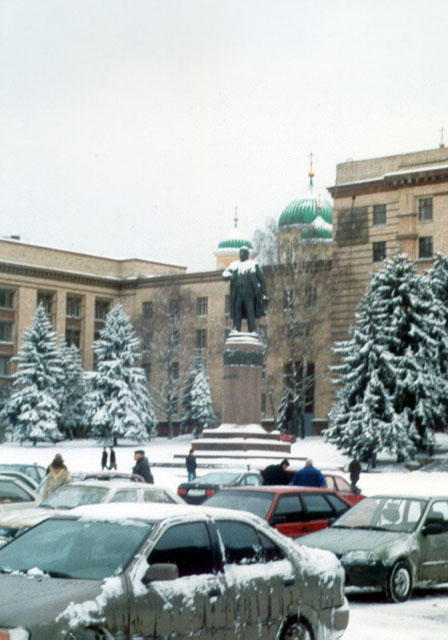 Площадь Ленина (зима)