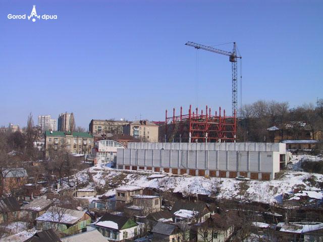 Строительство жилого комплекса Аркадиевская башня по ул. Гоголя