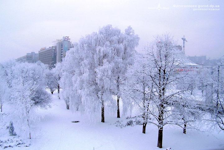 Набережная,Днепропетровск, год: Февраль 2006 (ID: 7457)Руднев Игорь