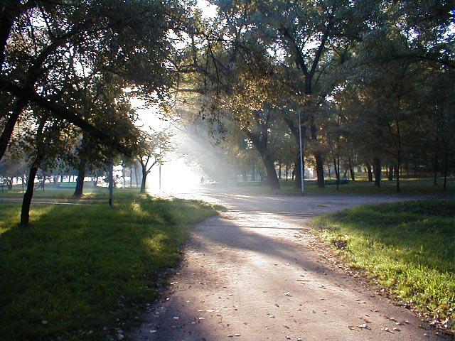 В парке Лазаря Глобы, Октябрь 2000 ID: 326, Комментарии: 0. Украинский Дом (быв.