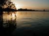 Вид на Днепр с Монастырского острова (вечер)