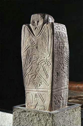 Керносовский идол. Днепропетровский Исторический музей