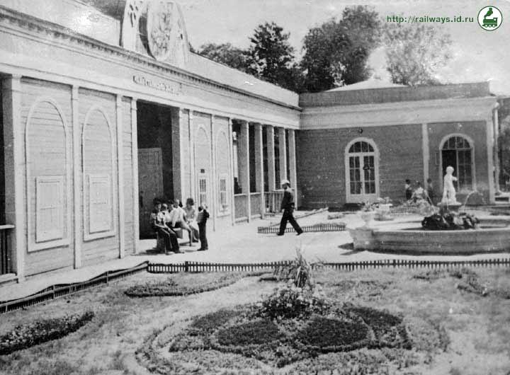 Детская ж.д. в парке Чкалова