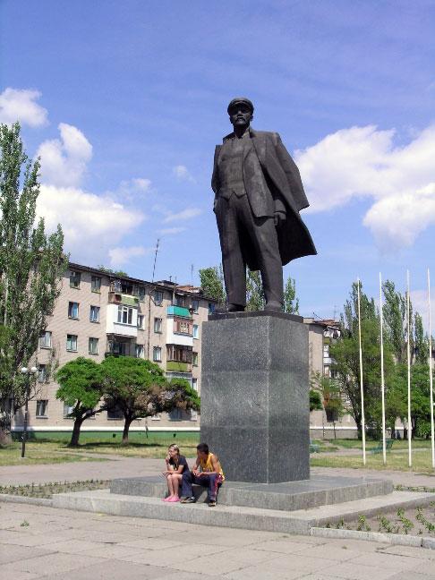 Новомосковск. Памятник В.И. Ленину