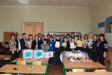 учні 64 школи м. Дніпра привітали воїнів з Зеленими Сятами !