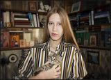 Барышня с Котёнком