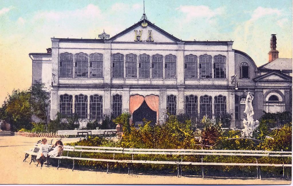 Третье здание Английского клуба на Клубной улице