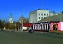Петропавловка, центр. Перекресток
