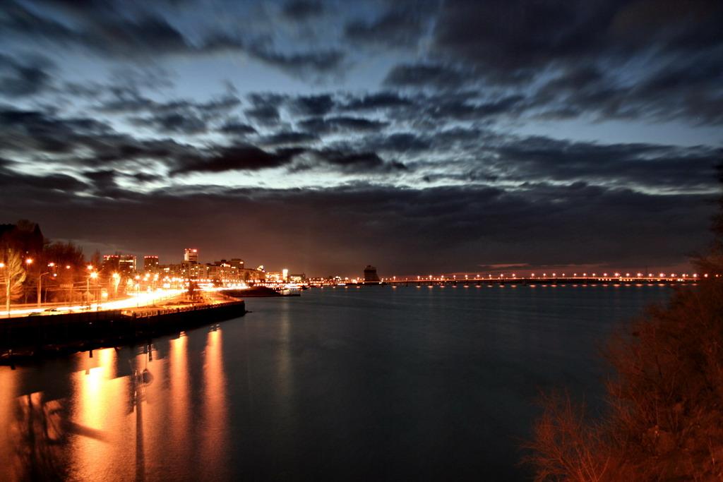 Фото ночного днепропетровска на обои