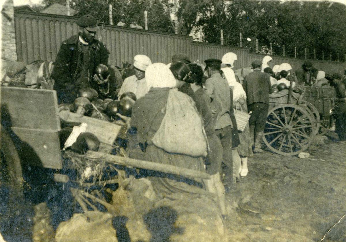 Базар Дніпропетровськ. Базар. 1928 р.