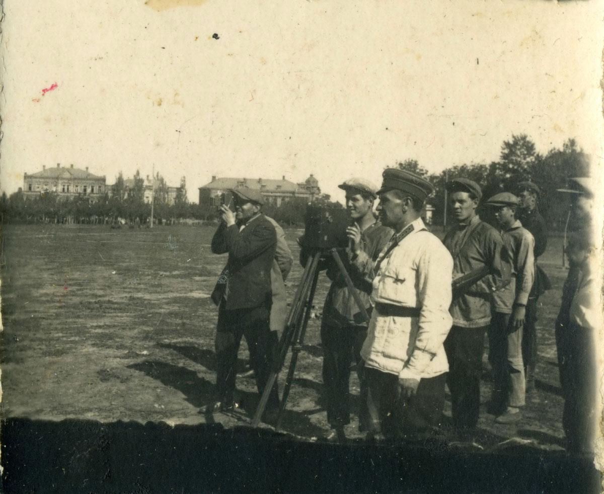 На Жовтневій площі в Дніпропетровську.