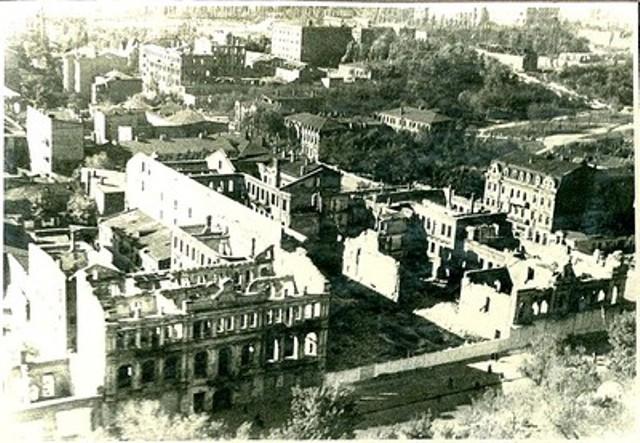 Проспект в 1945г.