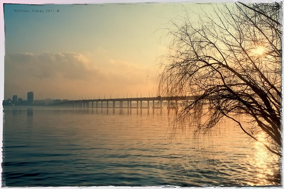 Днепровские закаты