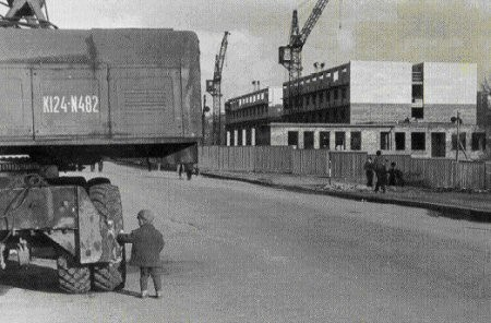 Начало строительства гостиницы «Днепропетровск»