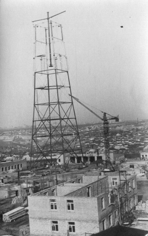 Строительство телецентра и телевышки